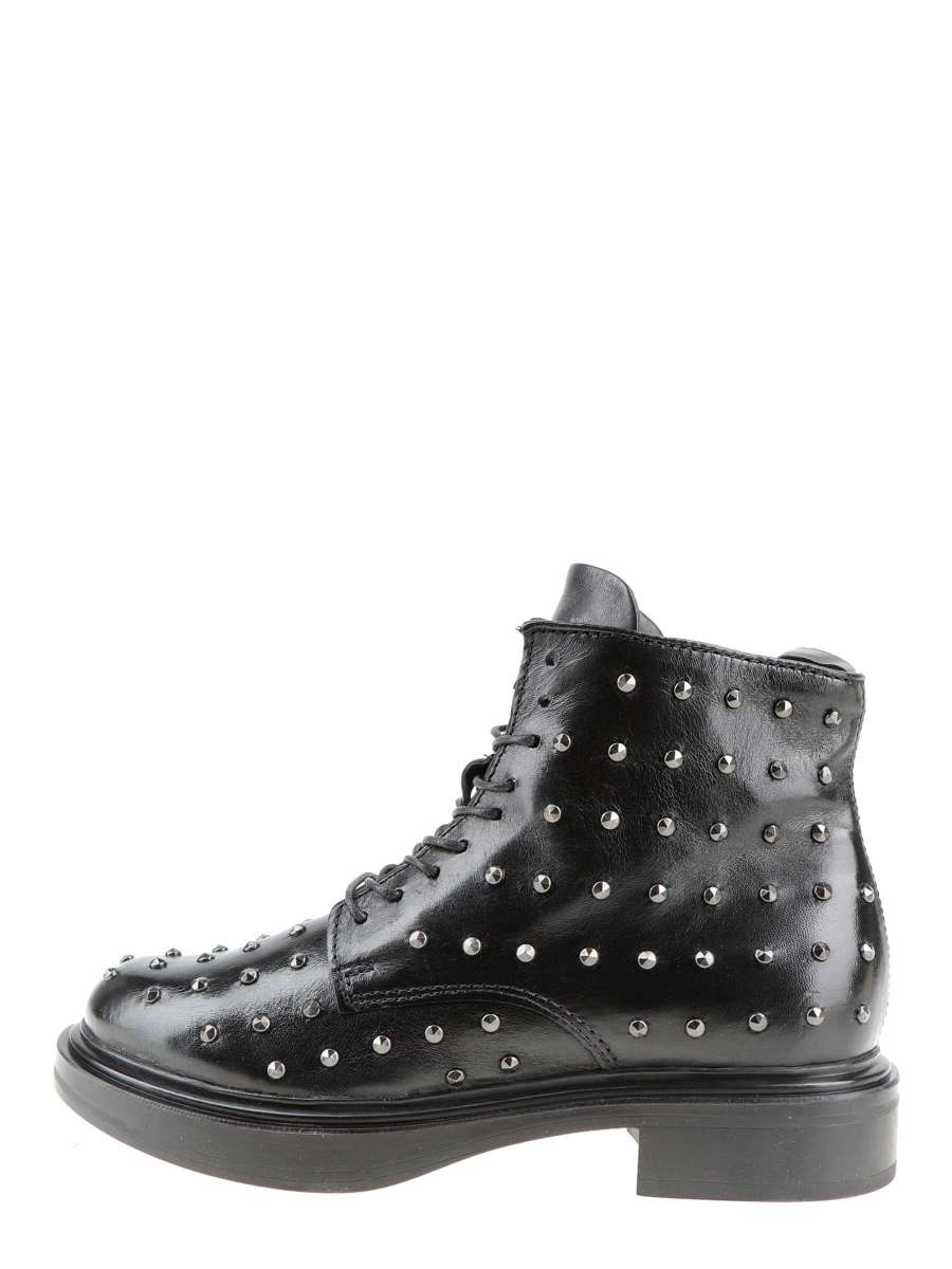 Studded boots nero