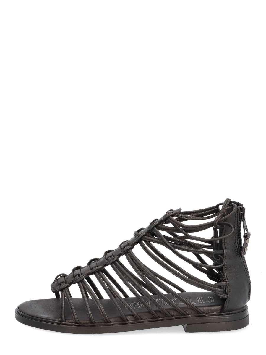 Gladiator sandals nero
