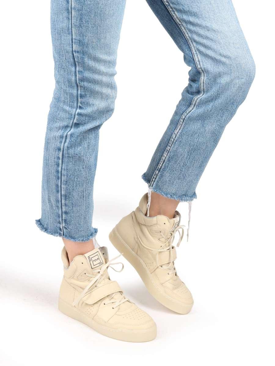 High-Top Sneaker natur