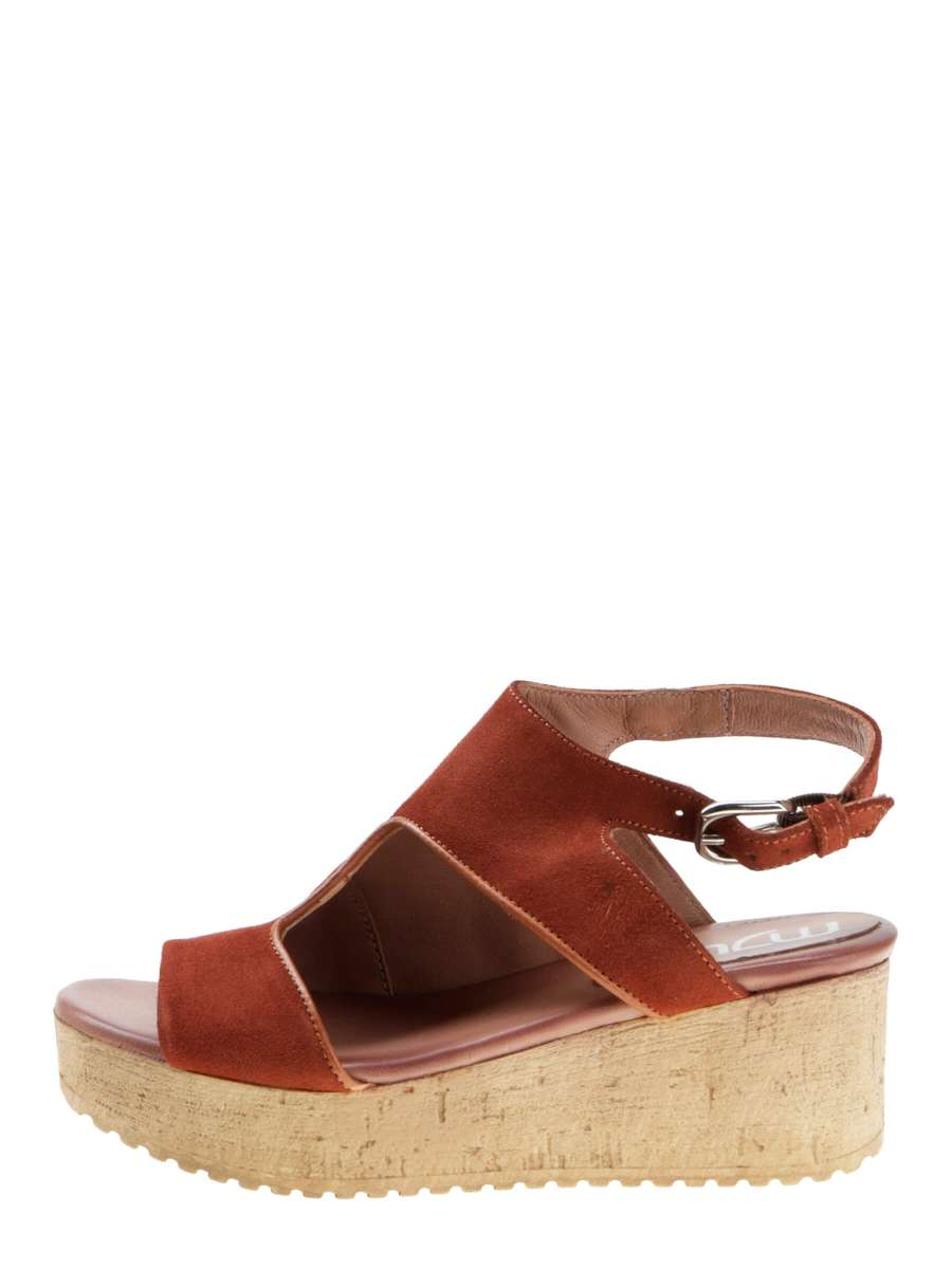 Wedge sandals cannella