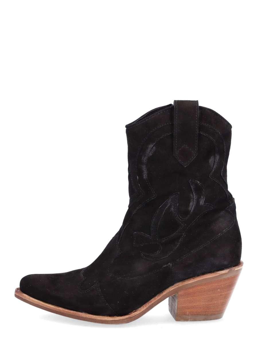 Cowgirl boots nero