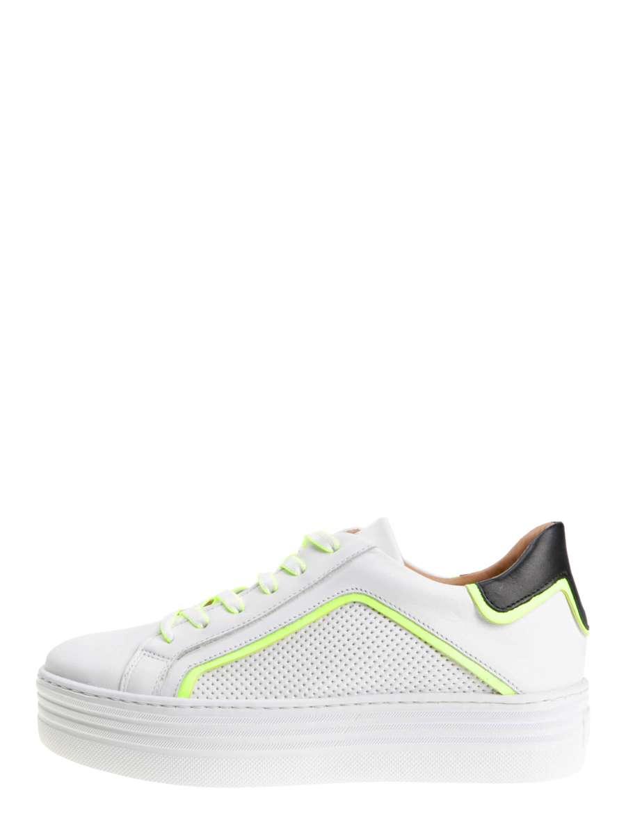 Platform sneaker bianco