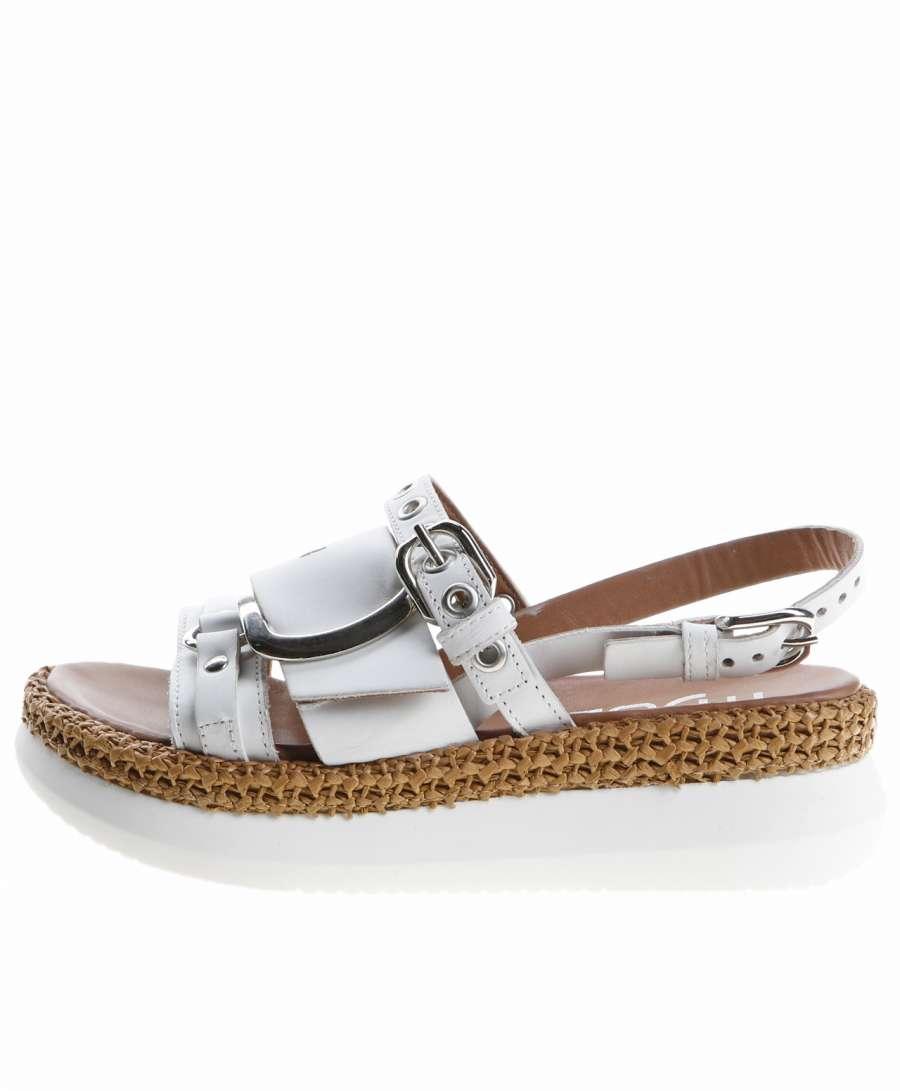 Platform sandals bianco