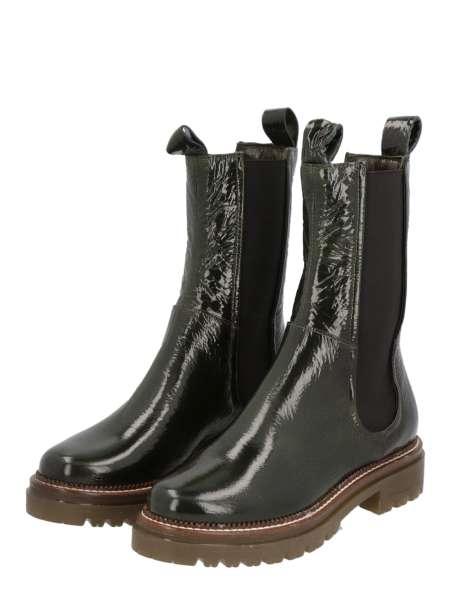 High Top Chelsea Boots verde