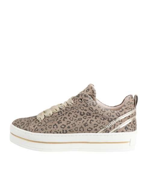 Platform sneaker opale
