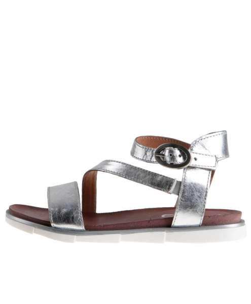 Strappy sandals argento