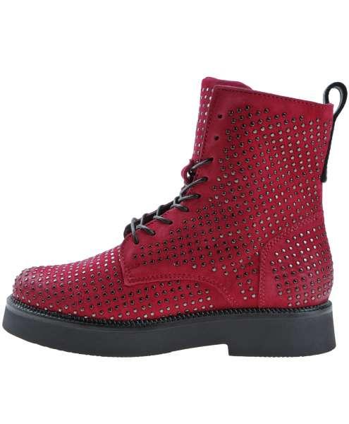 Studded boots porpora