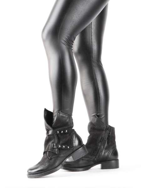 Stiefelette nero