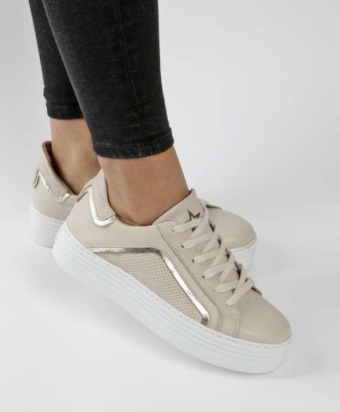 Plateau Sneaker panna