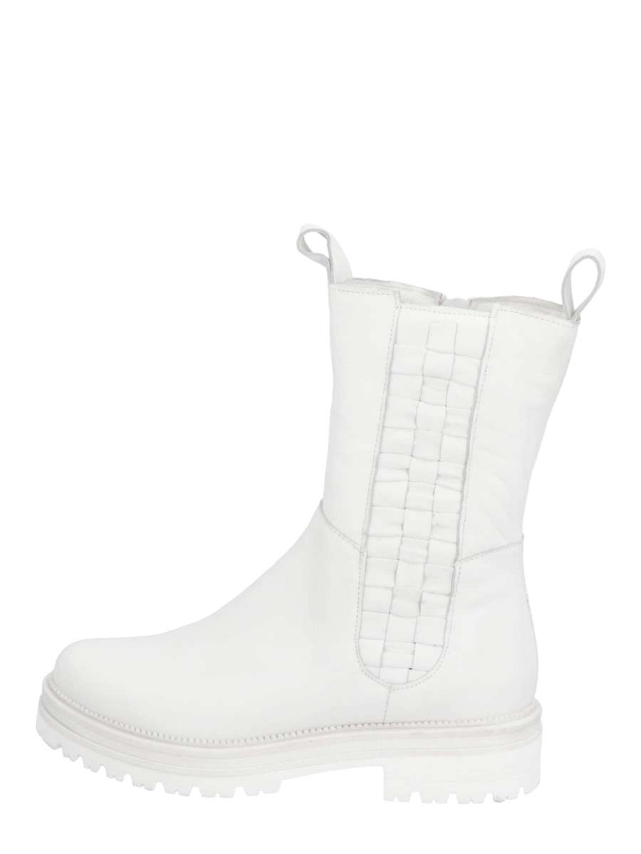 High Top Chelsea Boots bianco