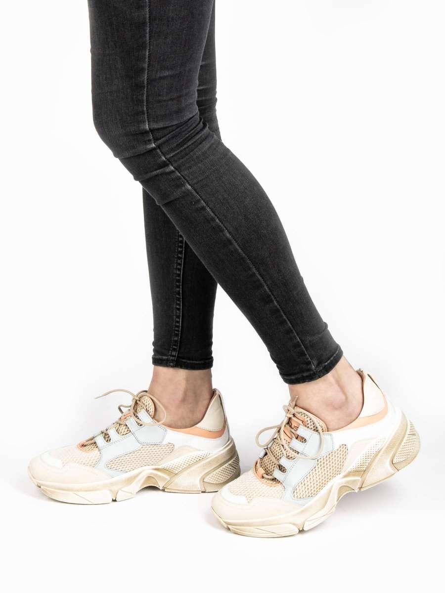 Chunky Sneaker panna combi