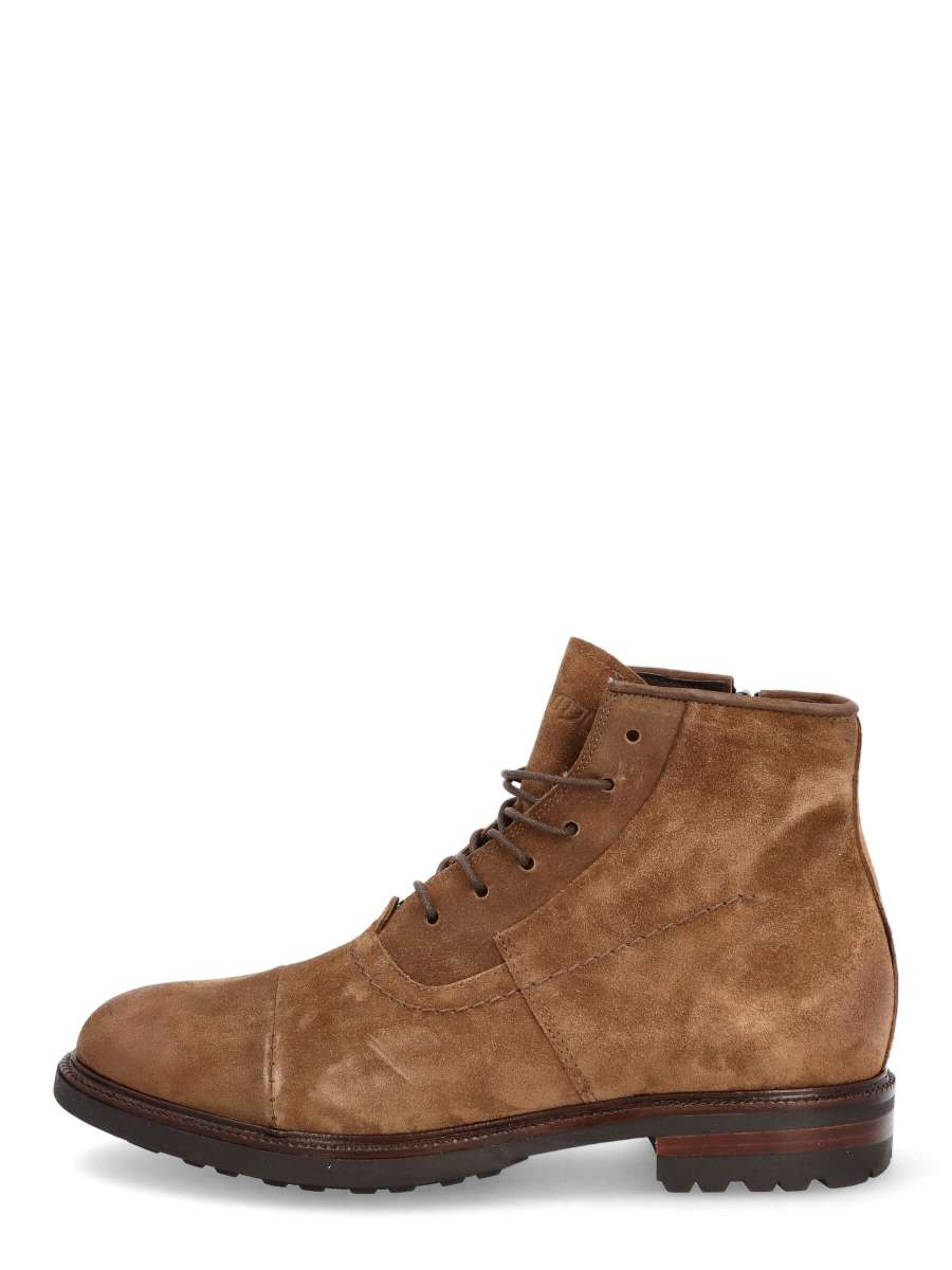 Lace-up ankle boots nero
