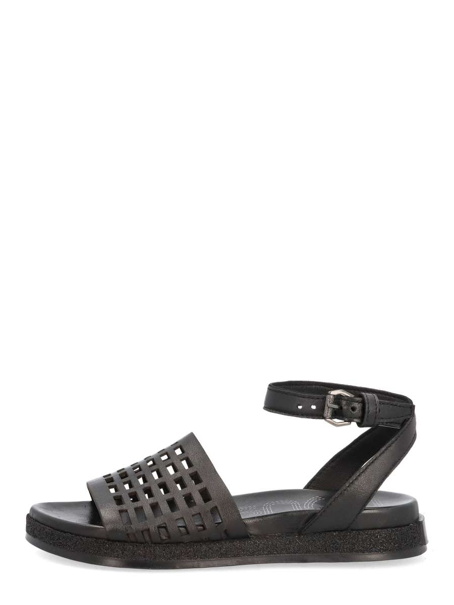 Platform sandals nero