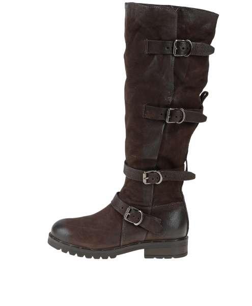 Buckle boots moka