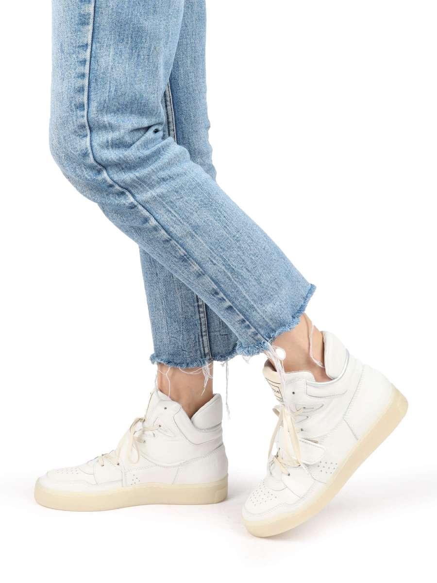 High top sneakers bianco