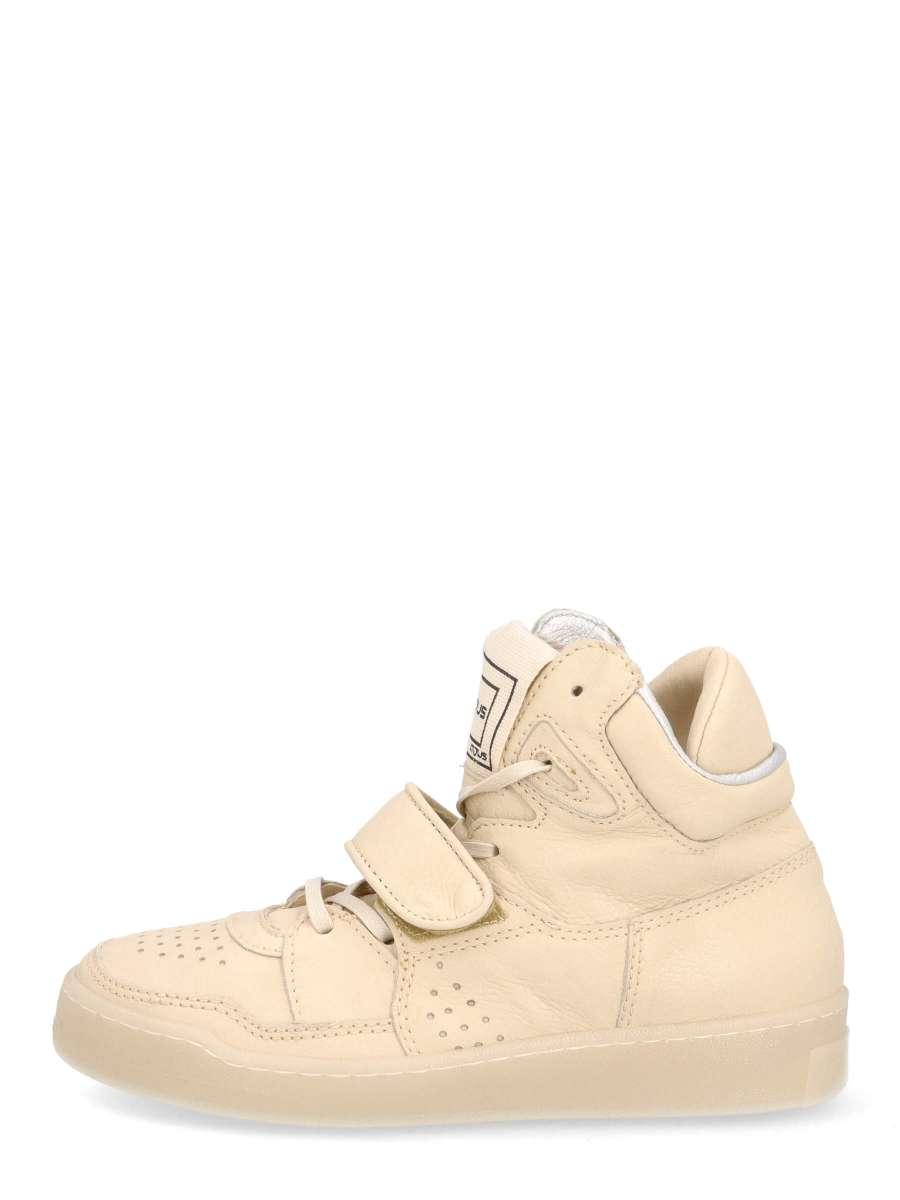 High top sneakers natur