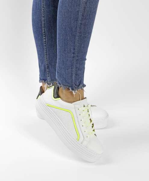Plateau Sneaker bianco