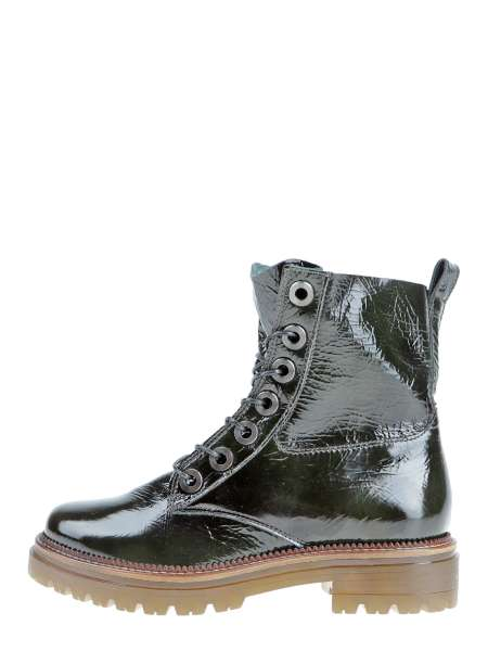 Laced boots verde