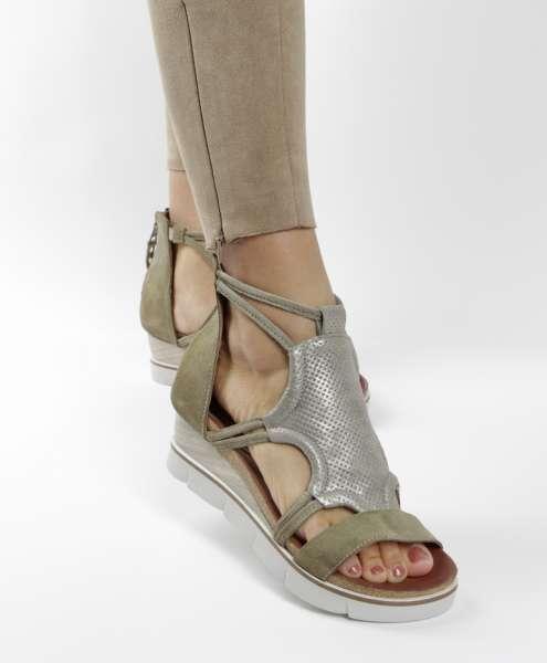 Keilsandale kaki
