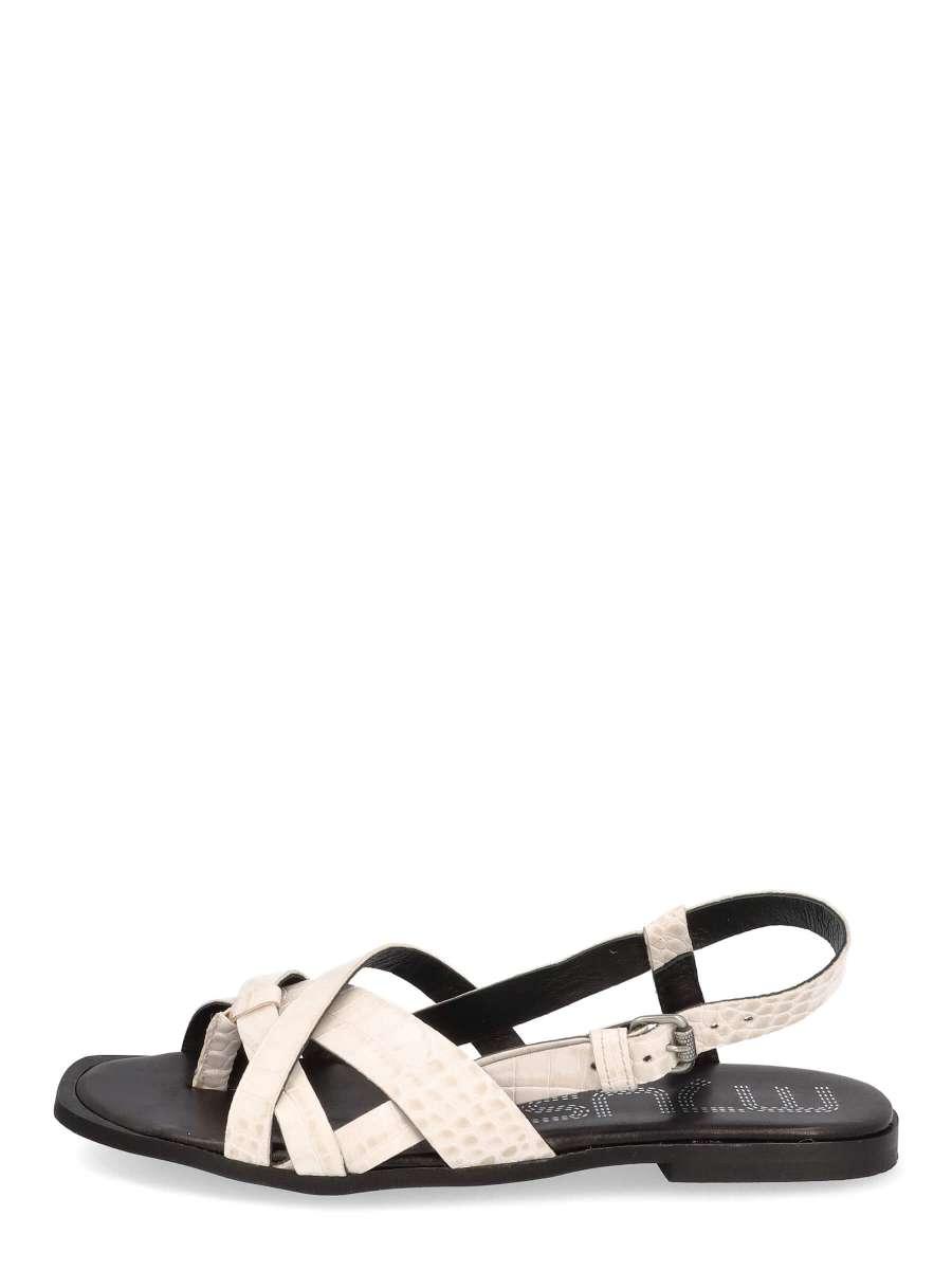 Strappy sandals panna