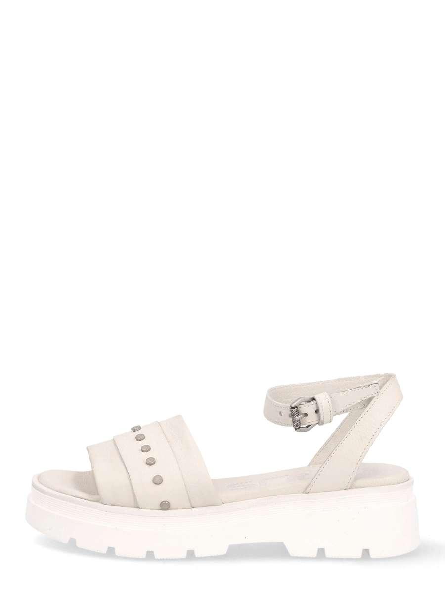 Platform sandals panna