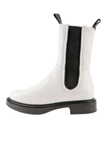 High-top chelsea boots panna