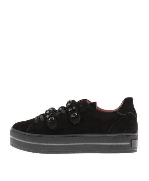 Platform sneaker nero