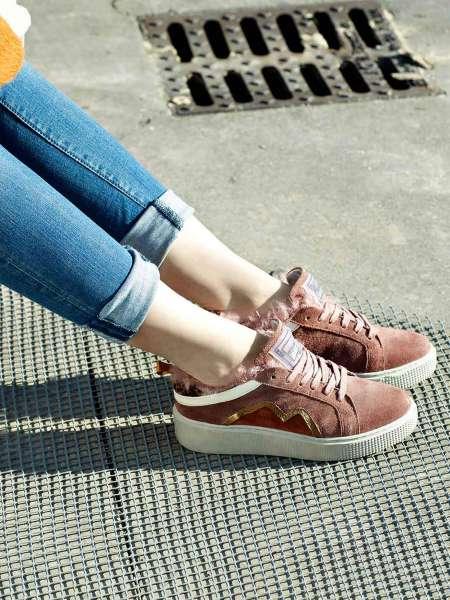 Plateau Sneaker glamour