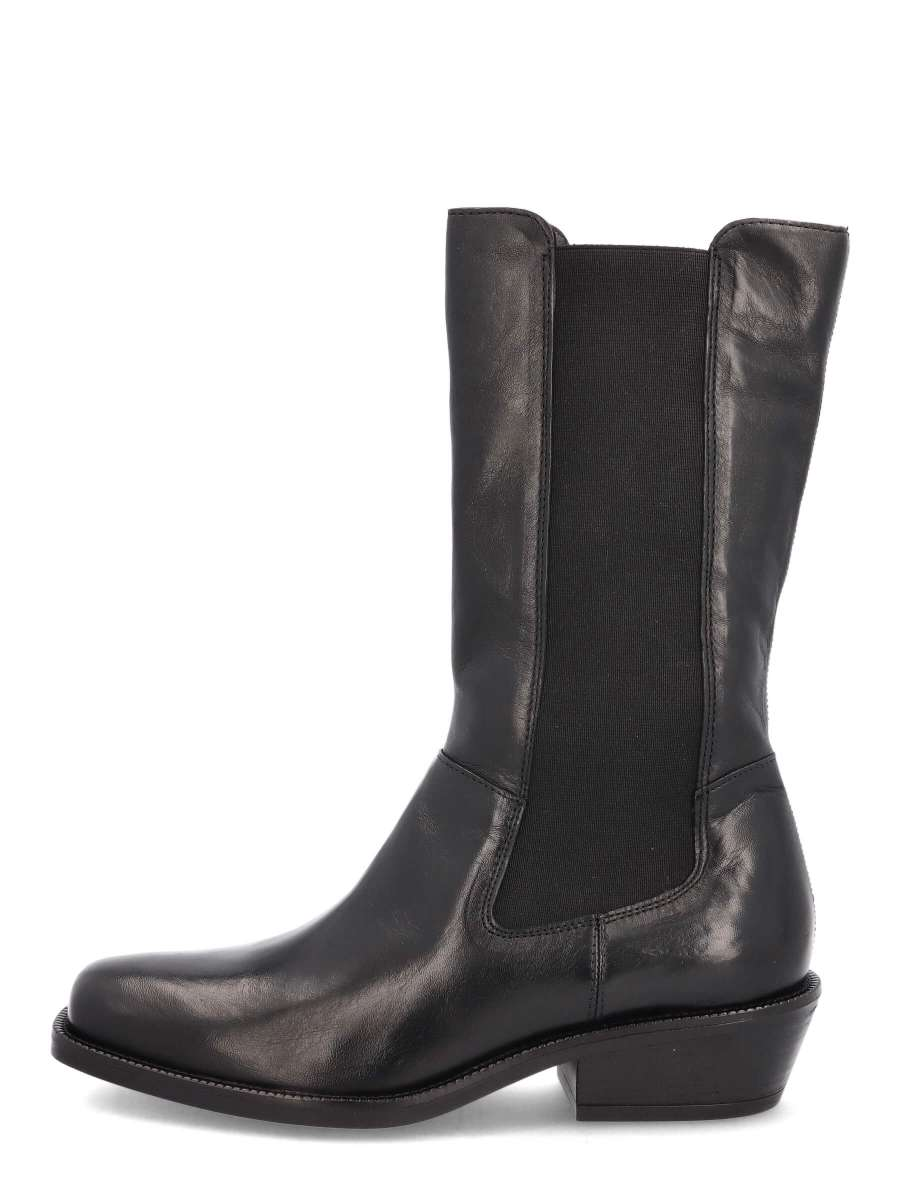 High Top Chelsea Boots nero