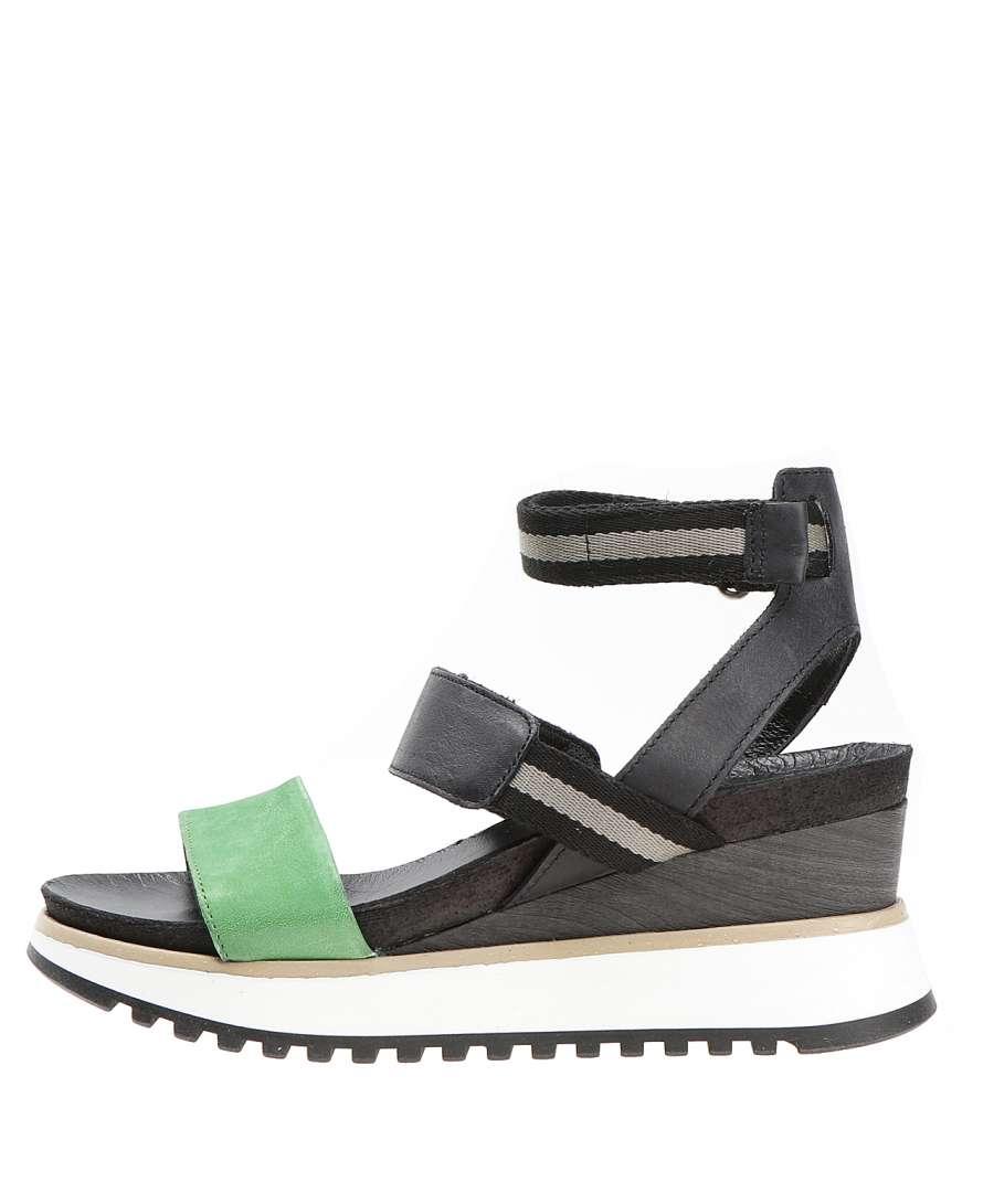 Wedge sandals menta
