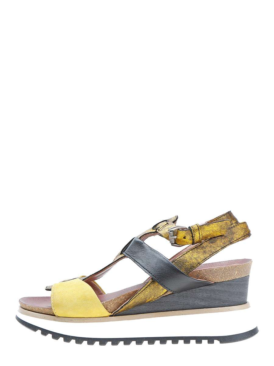 Wedge sandals lemon