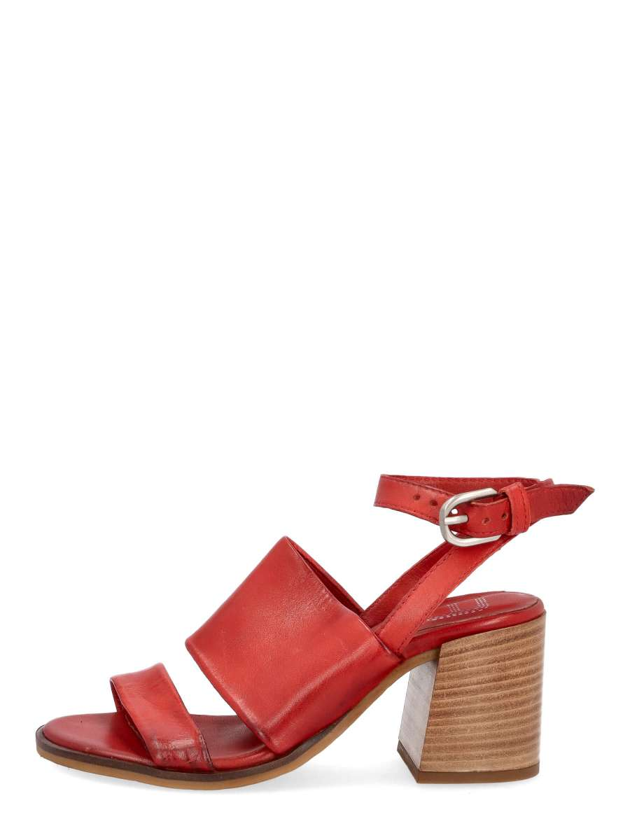 Strappy sandals scarlet