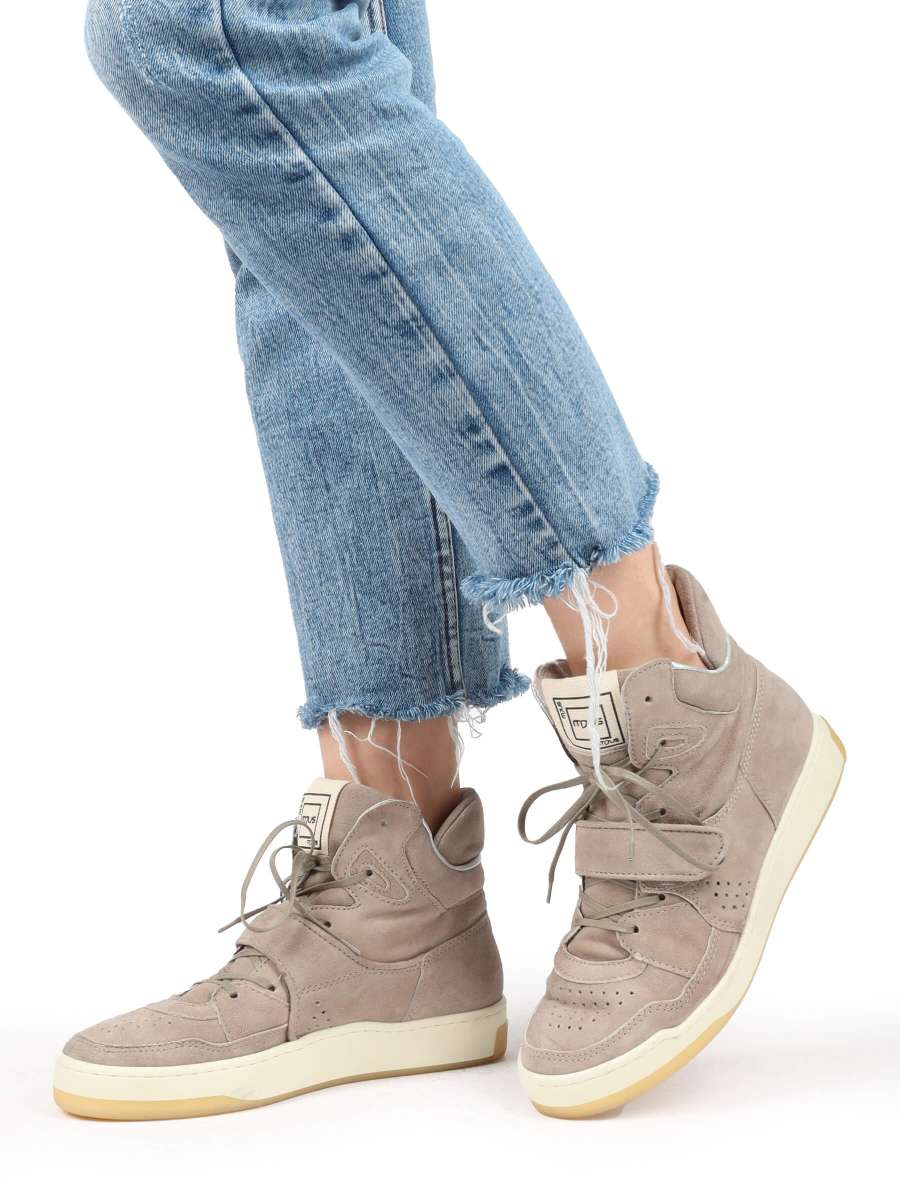 High-Top Sneaker opale