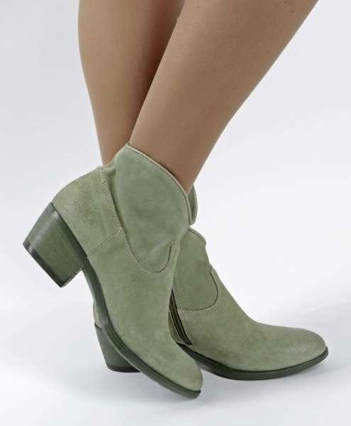 Bestseller Stiefelette kaki