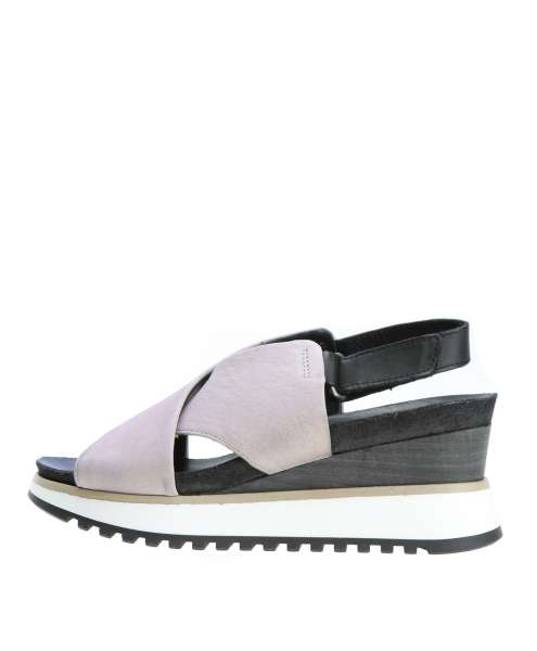Wedge sandals glicine
