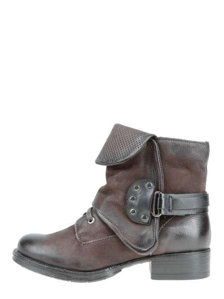 Cuffed boots moka