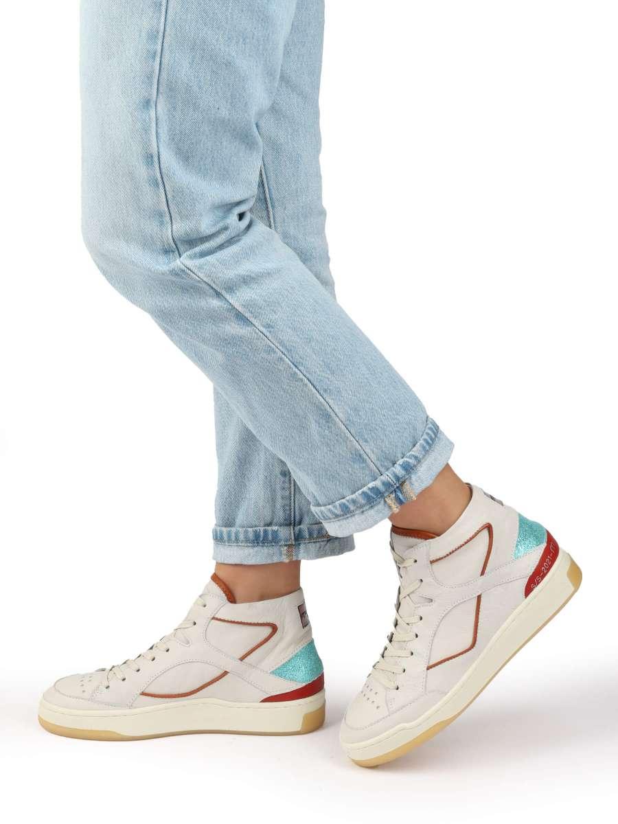 High-Top Sneaker panna