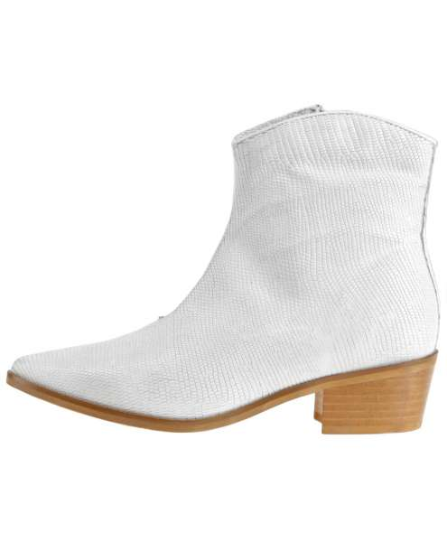 Ankle boots bianco