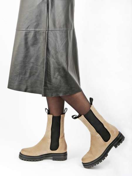 High Top Chelsea Boots opale