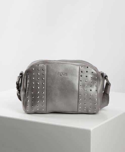 Studded handbag medusa