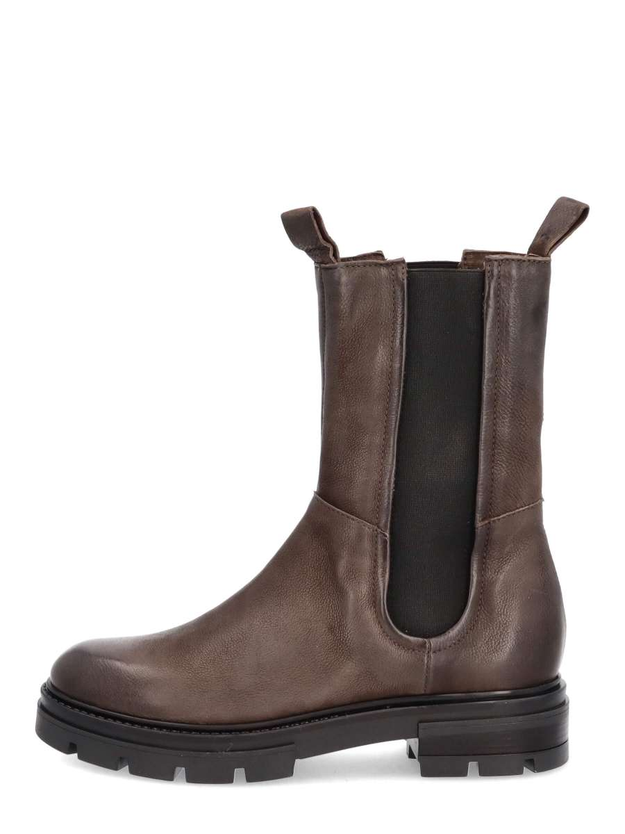 High top chelsea boots shadow