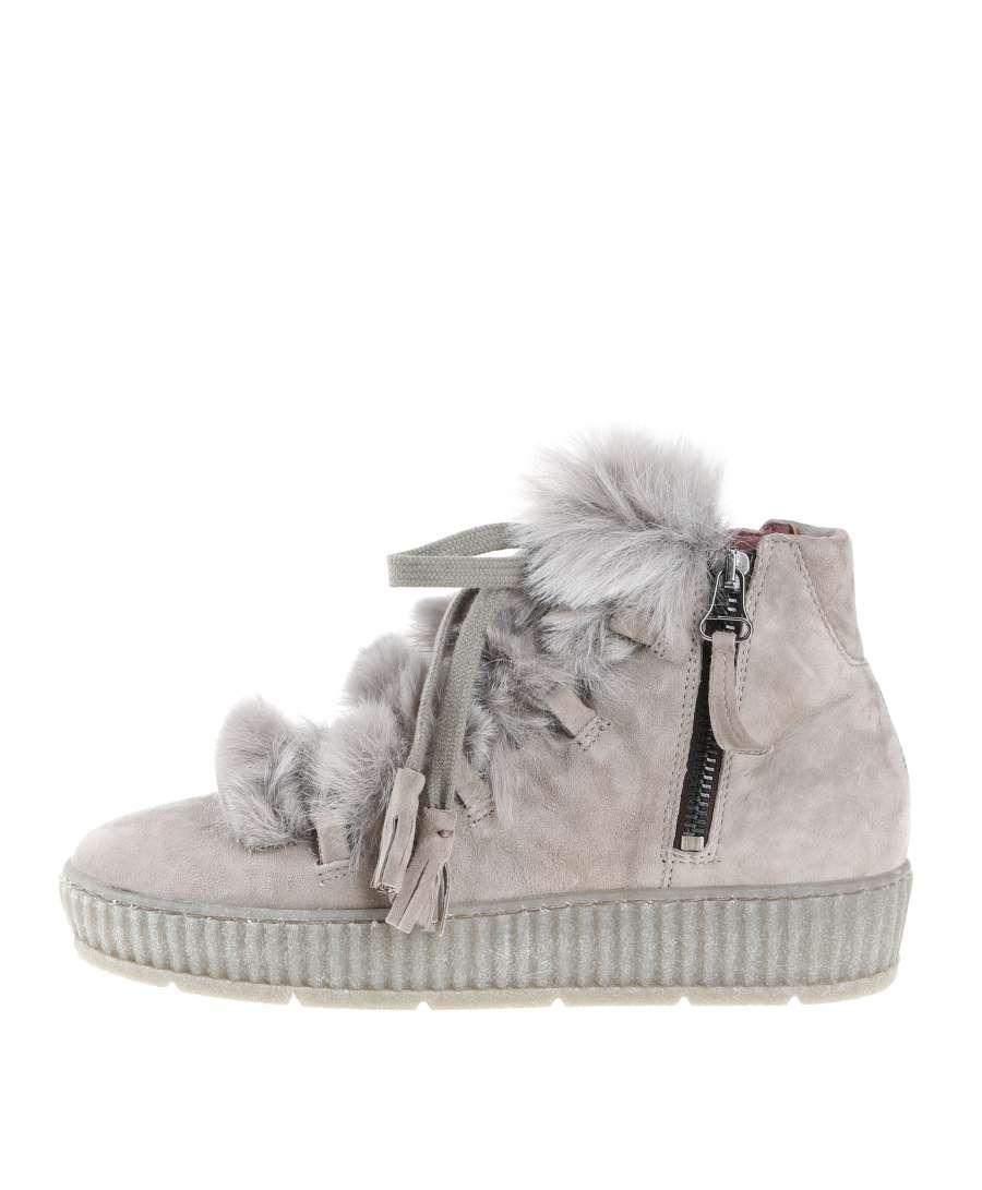 Fur boots opale