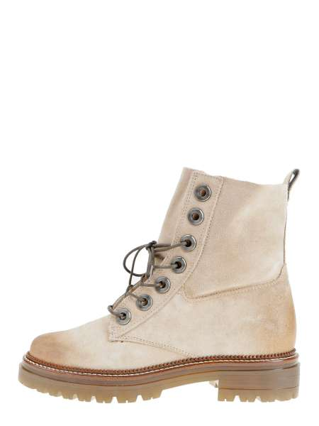 Laced boots opale