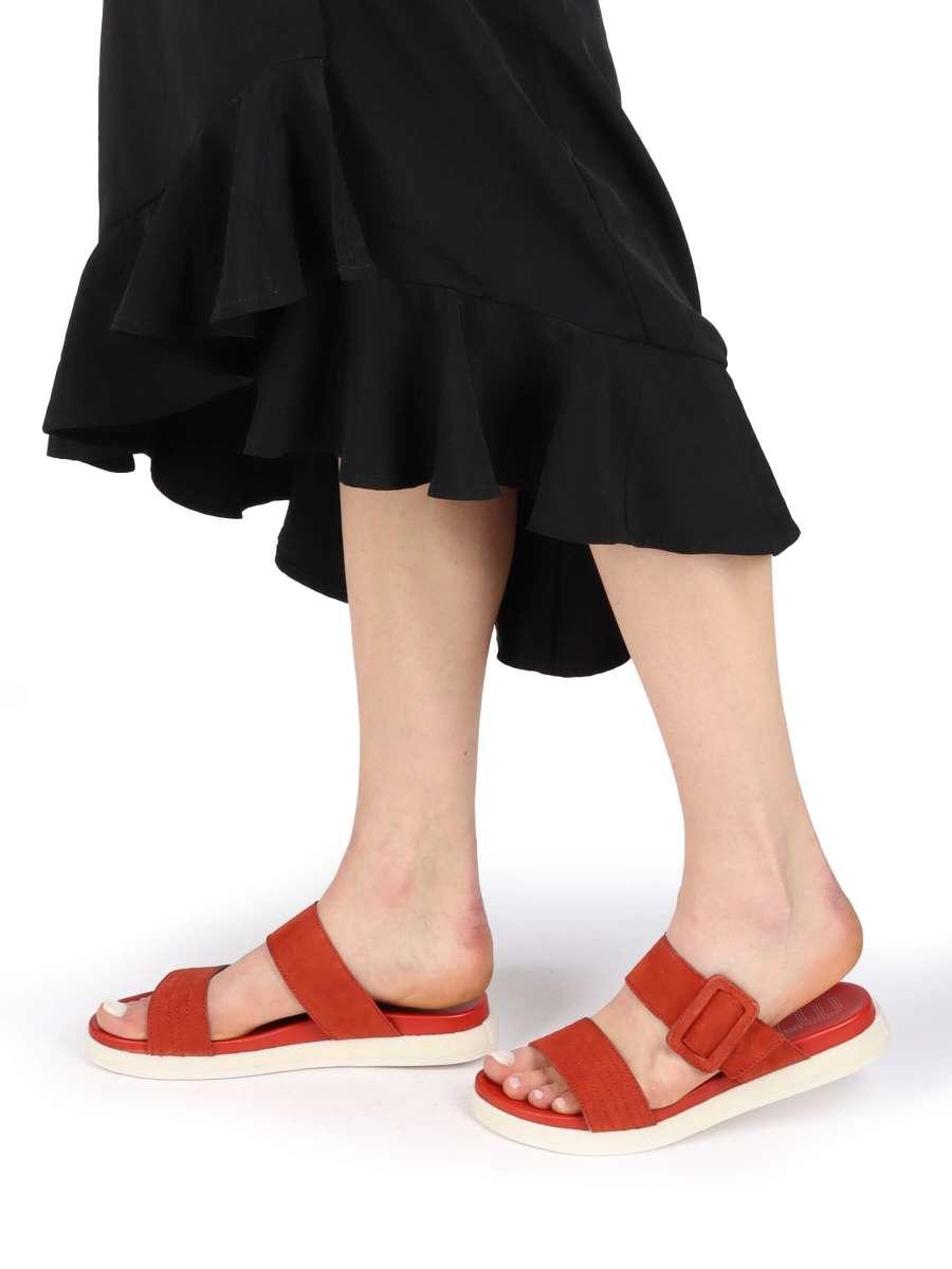 Pantolette scarlet